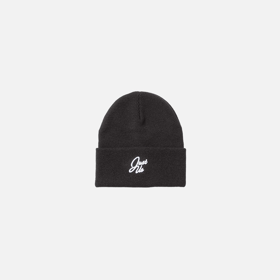 Kith Just Us Script Beanie - Black