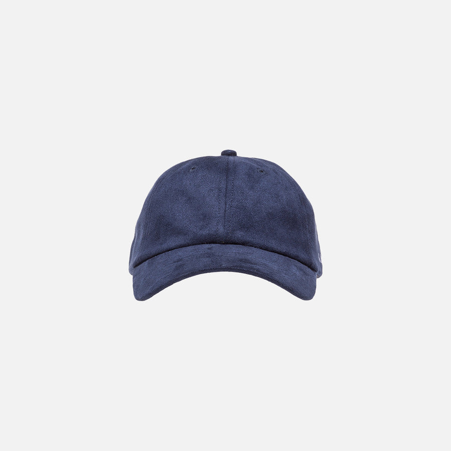 Kith Suede Cap - Navy