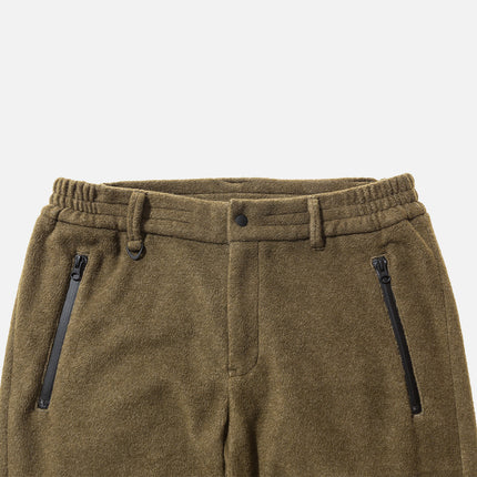 Kith x Ones Stroke Sherpa Pant - Olive