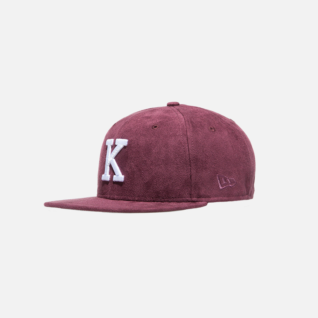 Kith x New Era K 59FIFTY Cap - Burgundy