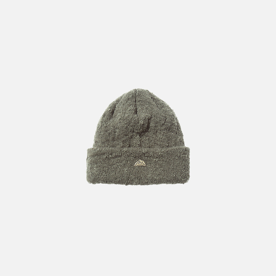 Kith x New Era Slub Knit Beanie - Stone Green