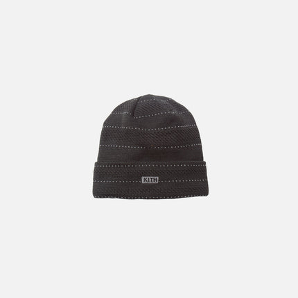Kith x New Era Multi-Knit Beanie - Black / Cattail