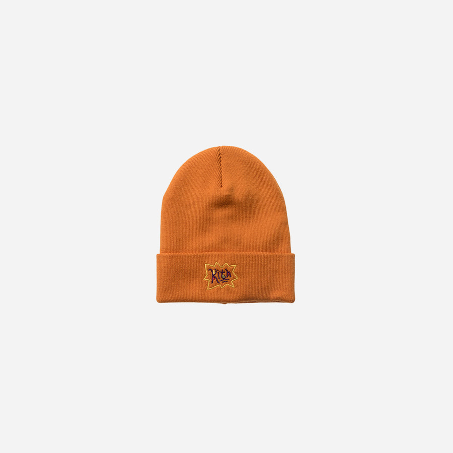Kith x Rugrats Logo Beanie - Orange