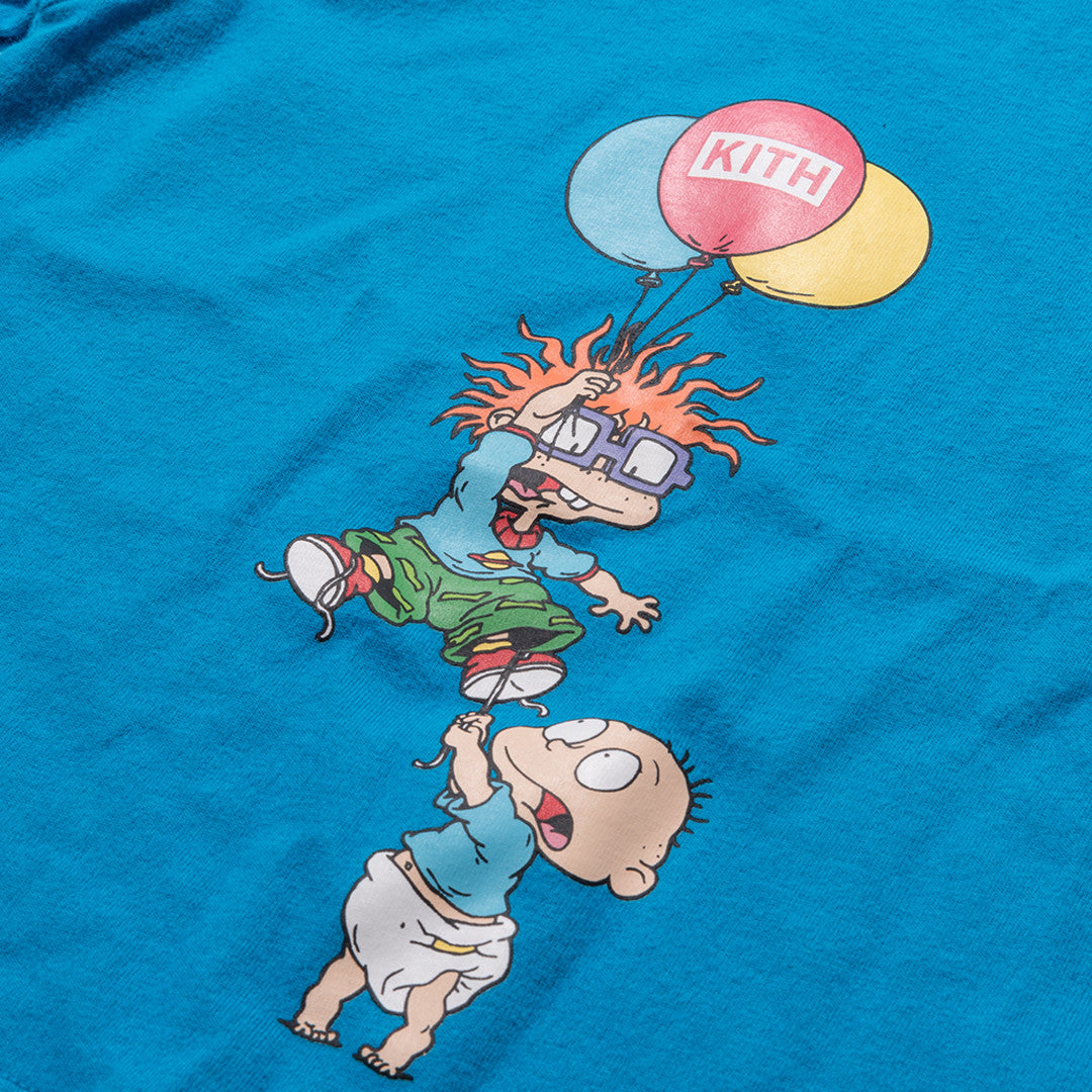 Kidset x Rugrats Tommy & Chuckie Tee - Blue