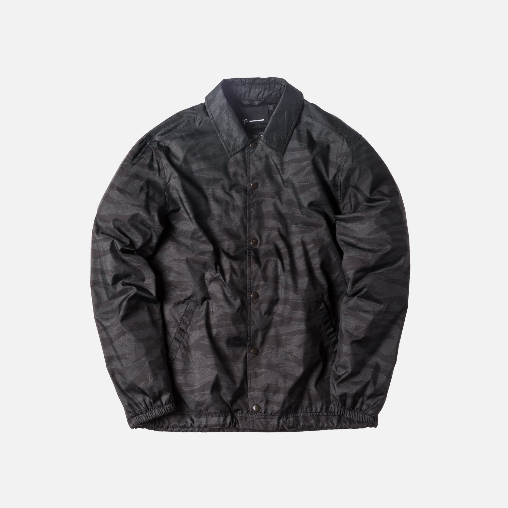 T by Alexander Coaches Jacket - Black