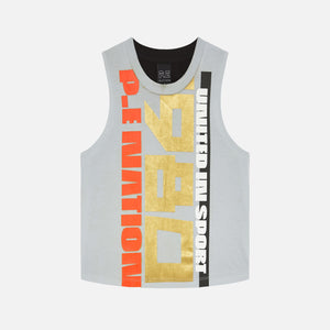 Kith Women x P.E Nation Replay Tank - Pale Blue Image 1