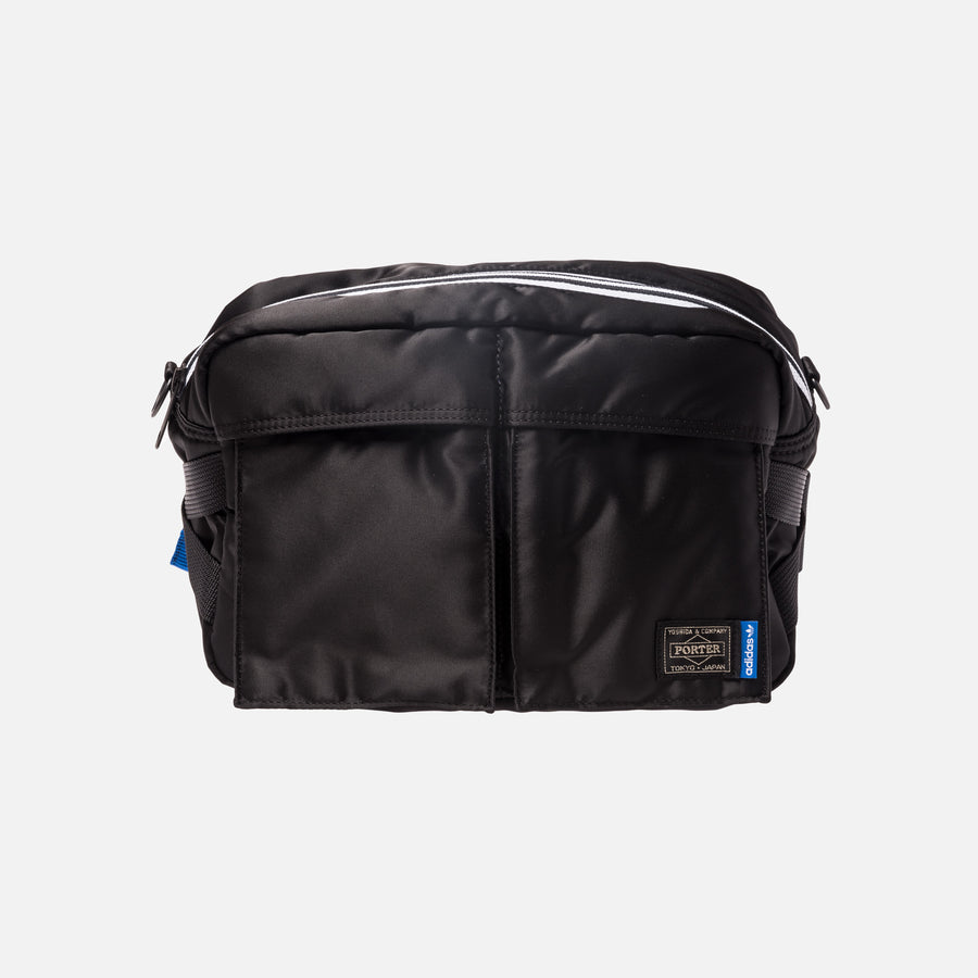 adidas Consortium x Porter Two Way Shoulder Bag - Black