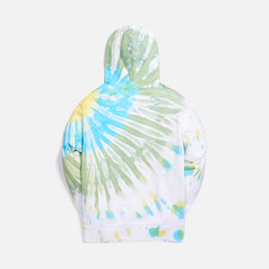 Kith Tie Dye Williams I Hoodie - Green