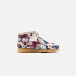 Clarks WMNS Wallabee Boot Patchwork