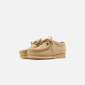 Clarks WMNS Wallabee Low - Maple