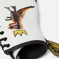 Doc Martens x Basquiat 1460 Youth - White Thumbnail 1
