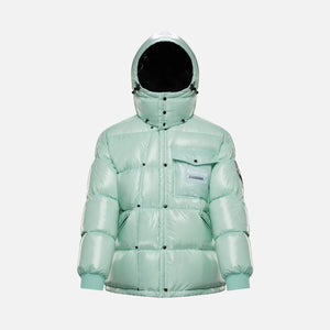 7 Moncler Fragment Anthemy Giubbotto Jacket - Teal Image 1