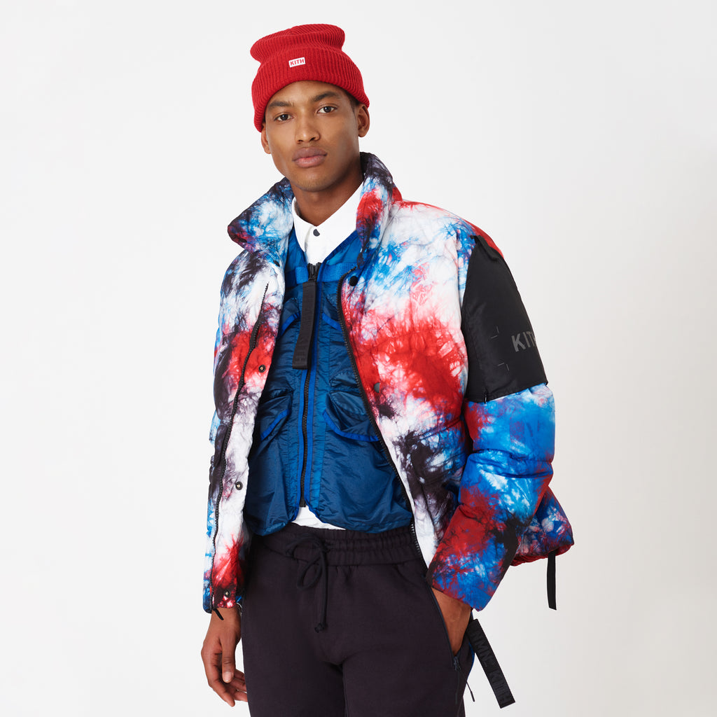 Kith x Nemen Goose Down Reversible Jacket - Tie Dye-look