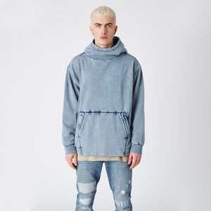Kith Double Pocket Hoodie - Medium Indigo