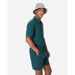 Kith Camp Collar Silk Cotton Shirt - Scarab Image 2