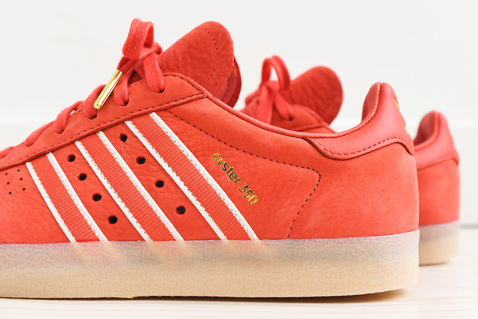 adidas x Oyster 350 - Scarlet / White / Gold