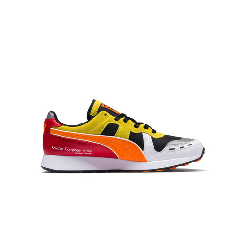 Puma x Roland RS-100 - Black / White / Vibrant Orange