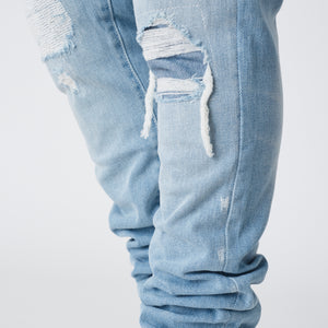 Kith Monroe Destroyed Denim - Hosu 2.0 Wash