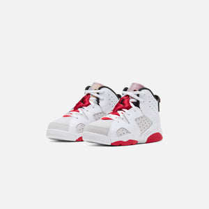 Nike Pre-School Air Jordan 6 Retro - Neutral Grey / Black / White / True Red Image 3