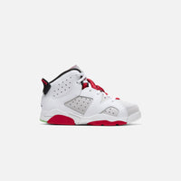 Nike Pre-School Air Jordan 6 Retro - Neutral Grey / Black / White / True Red Thumbnail 1