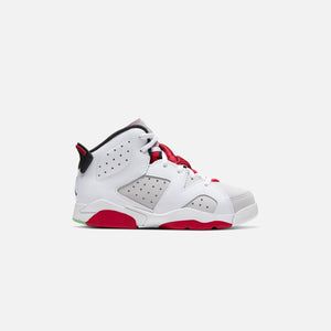 Nike Pre-School Air Jordan 6 Retro - Neutral Grey / Black / White / True Red Image 1