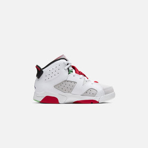 Nike Pre-School Air Jordan 6 Retro - Neutral Grey / Black / White / True Red Image 2