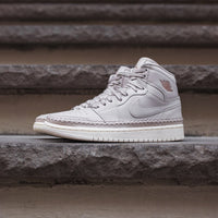 Nike WMNS Air Jordan 1 Retro High Premium - Desert Sand / Metallic Red Thumbnail 1