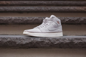 Nike WMNS Air Jordan 1 Retro High Premium - Desert Sand / Metallic Red Image 2