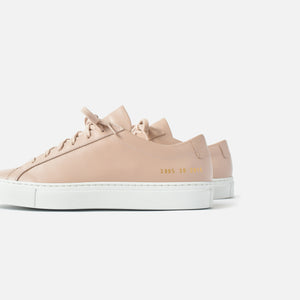 Common Projects WMNS Original Achilles Low - Blush / White Image 3