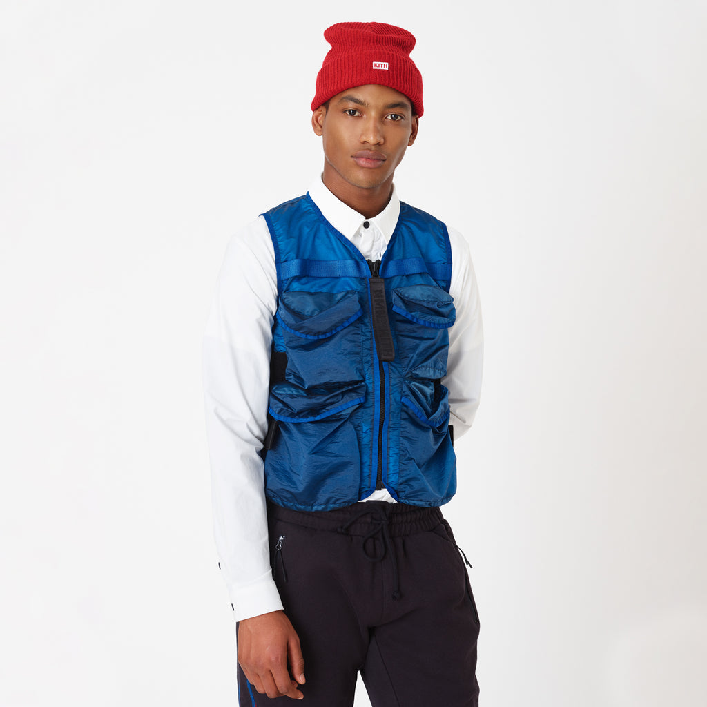 Kith x Nemen Xlight Guard Vest - Blue-look