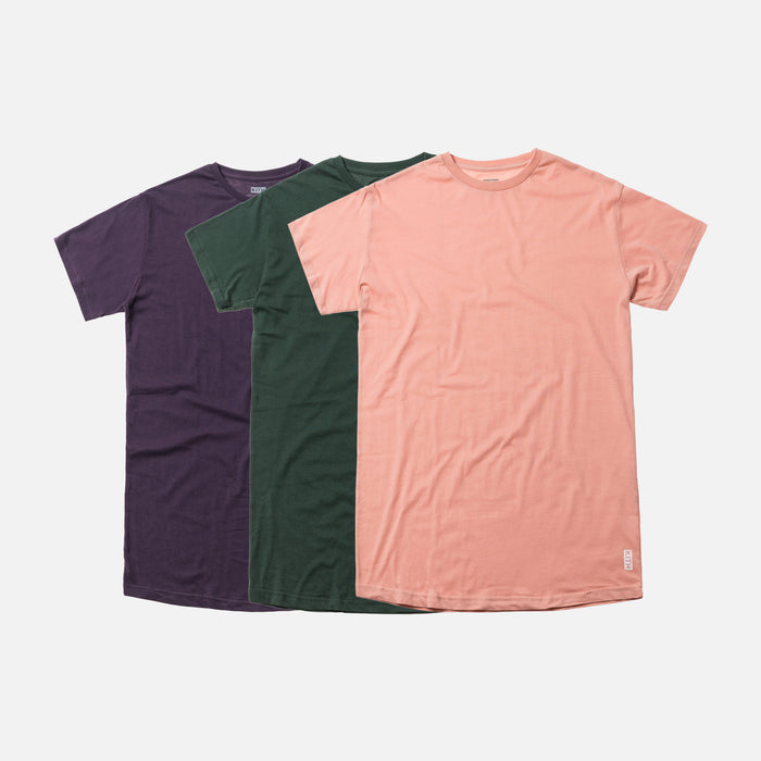 Kith Undershirt 3-Pack - Putty / Purple / Green