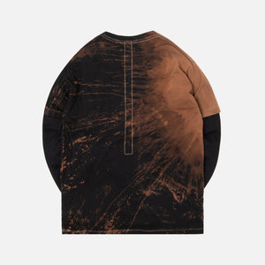 424 Reworked Double Layer Bleached Tee - Multi