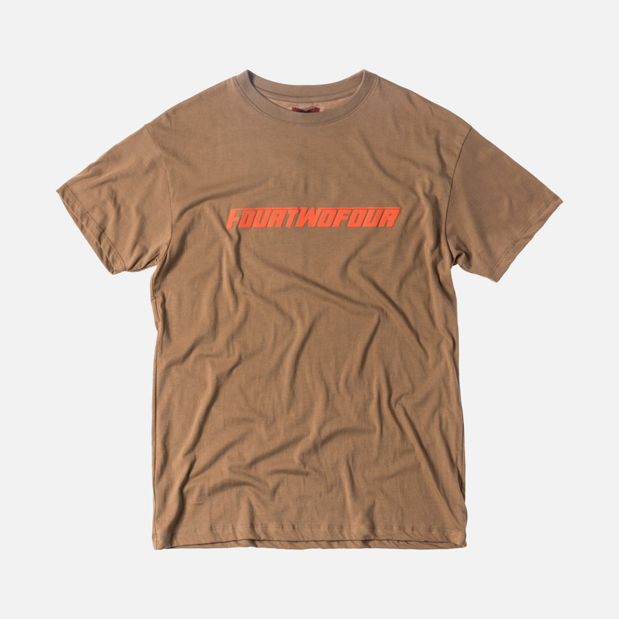 424 FOURTWOFOUR Tee - Camel