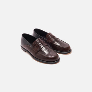 Loewe Slip-On Loafer - Brown / Black