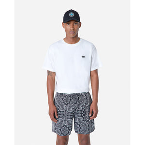 Kith Hardaway Silk Cotton Short - Black / Multi Image 2