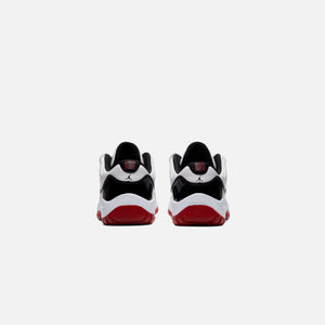 Nike Pre-School Air Jordan 11 Retro Low - White / University Red / Black Image 4