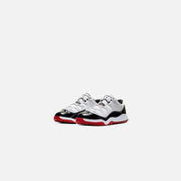 Nike Pre-School Air Jordan 11 Retro Low - White / University Red / Black Thumbnail 1