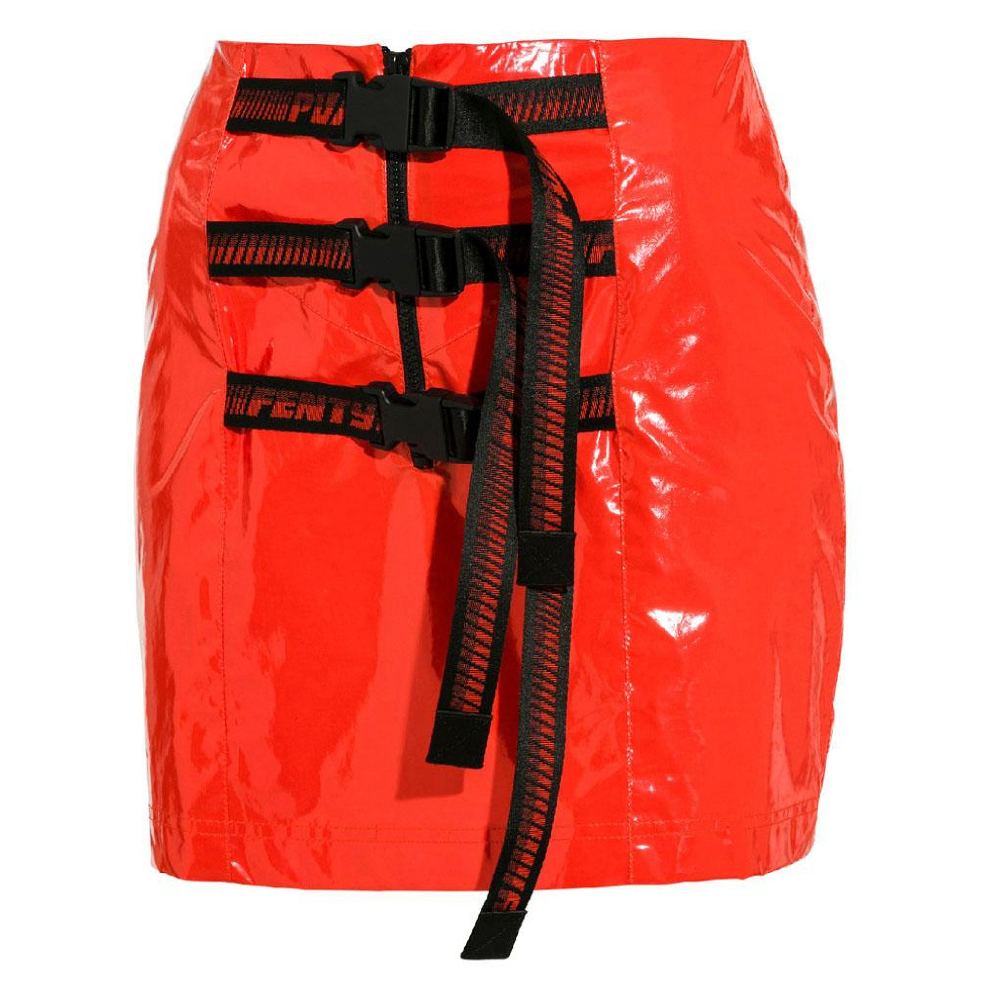 Puma x Fenty Belted Long Skirt - Cherry Tomato