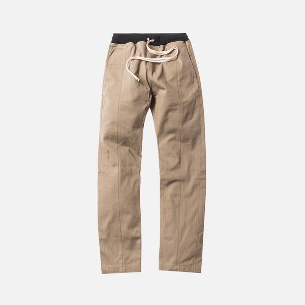 Fear of God 5th Collection Selvedge Chino Baggy Trouser - Khaki
