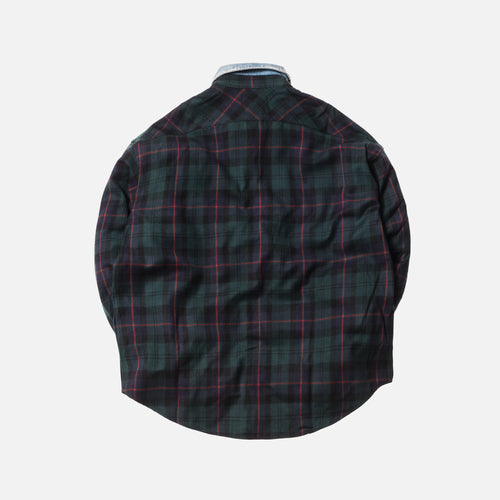 Fear of God 5th Collection Denim Collared Flannel - Green