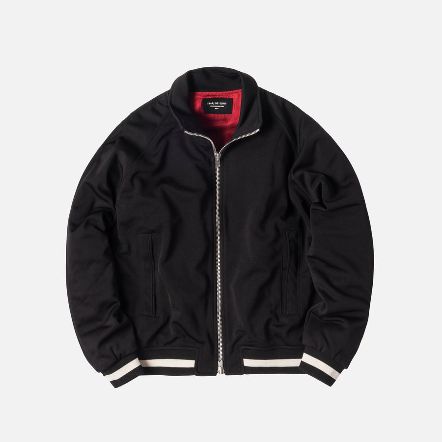 Fear of God 5th Collection Double Knit Track Jacket - Black