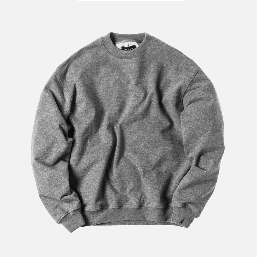 Fear of God Heavy Terry Crewneck - Grey