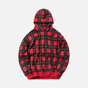 Fear of God 5th Collection Plaid Everyday Hoodie - Red