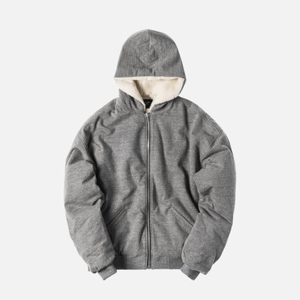 Fear of God Heavy Terry Alpaca Hoodie - Heather Grey