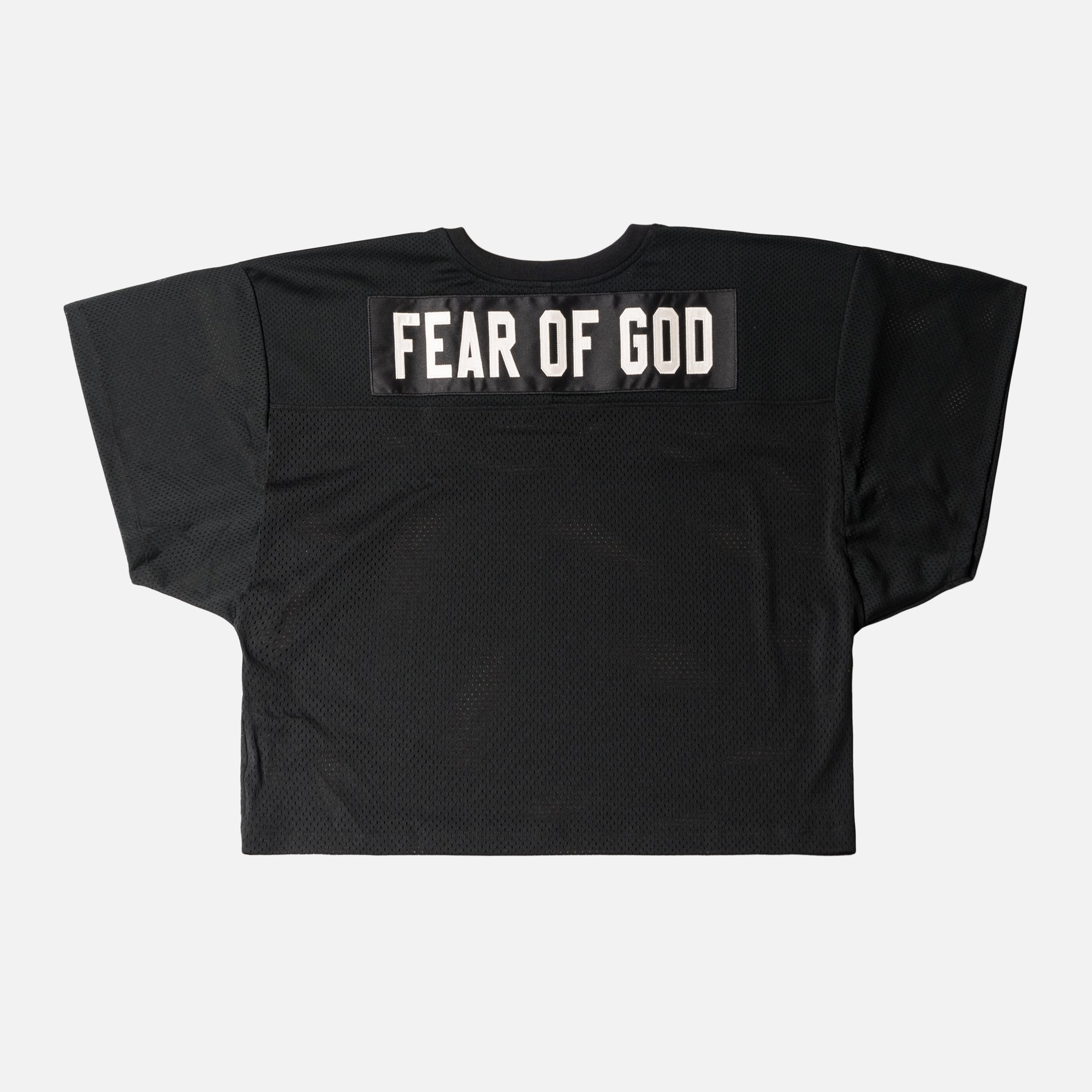 Fear of God 5th Collection Mesh Football Jersey - Black