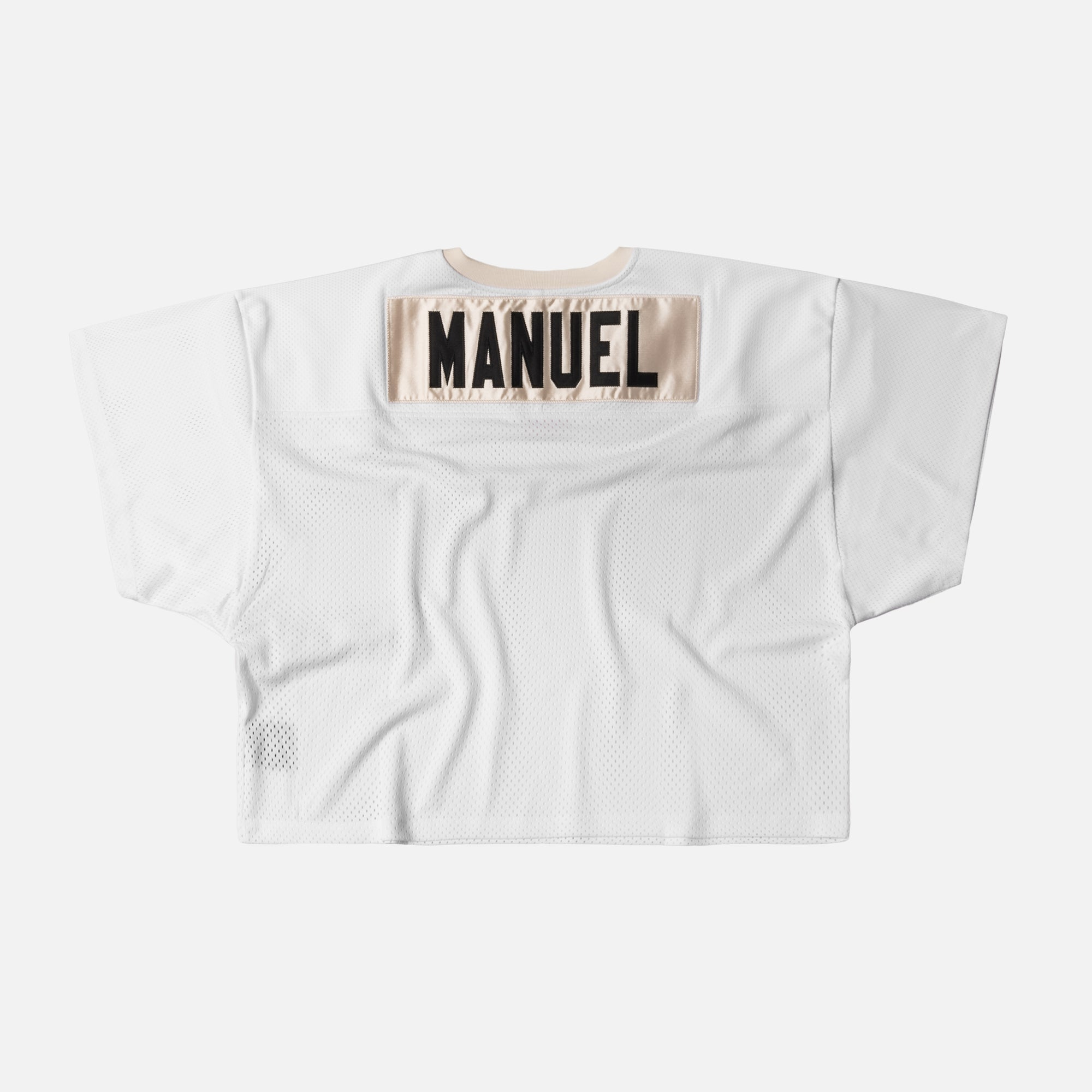 Fear of God 5th Collection Mesh Football Jersey - White