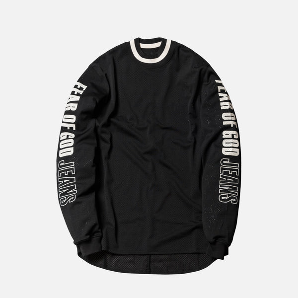 Fear of God 5th Collection Mesh Motocross Jersey - Black