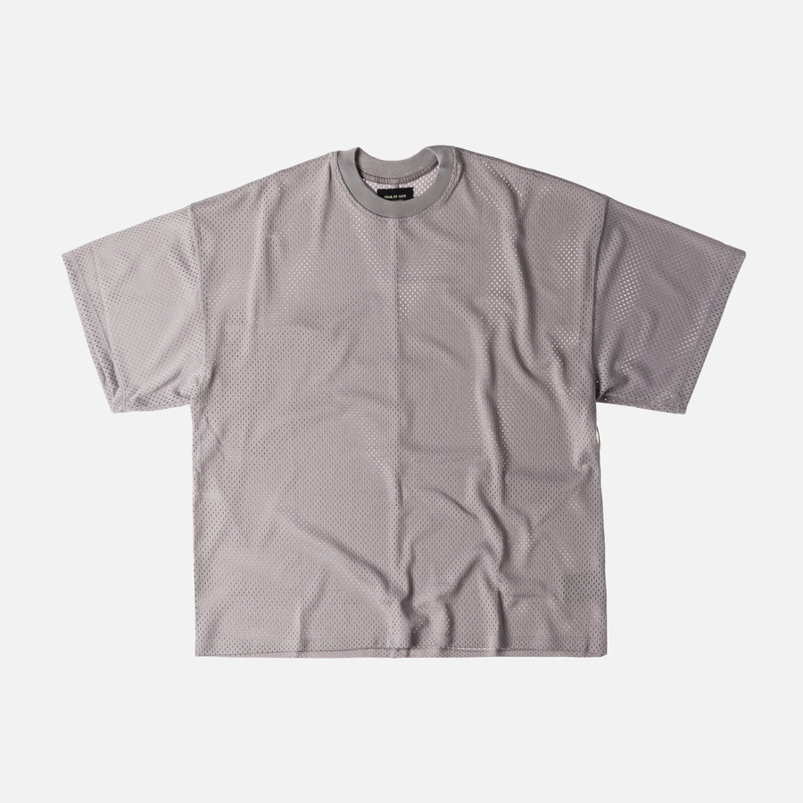 Fear of God 5th Collection Mesh Oversized Tee - Grey