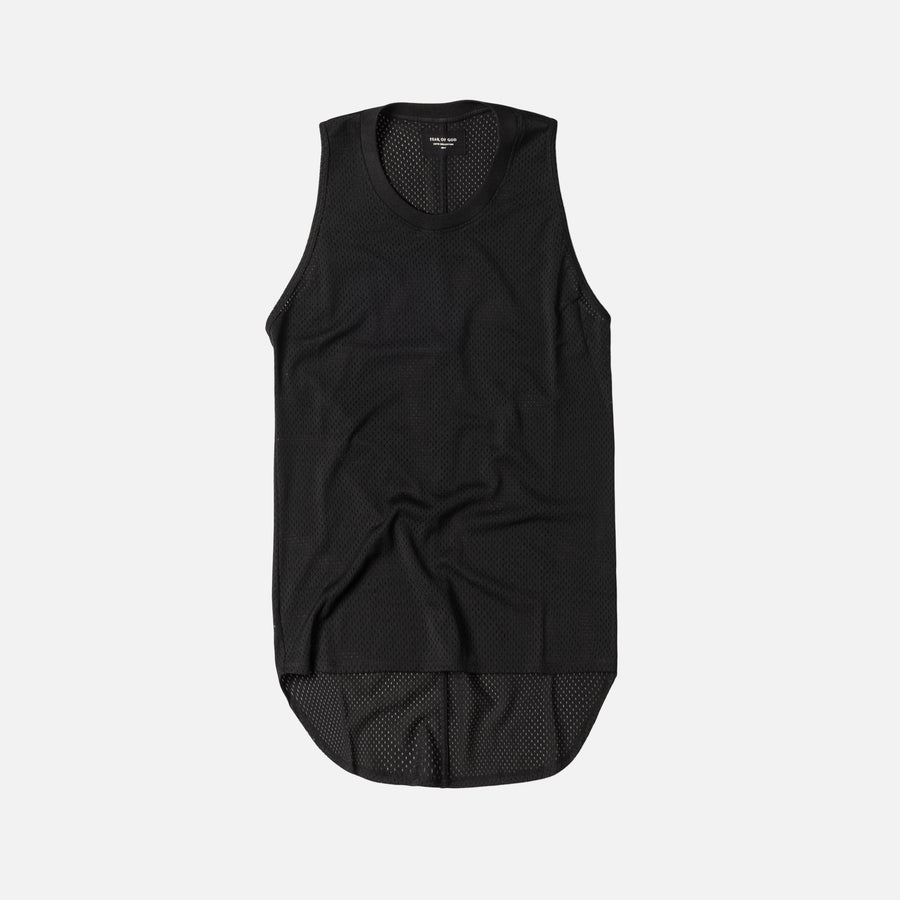 Fear of God Mesh Tank - Black
