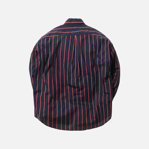 Fear of God 5th Collection Piped Oversized Button-Up - Navy / Red